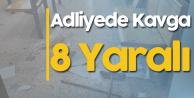 Ankara Adliyesi'nde Korkunç Olay! 8 Kişi Yaralandı