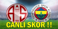 Antalyaspor: 0 Fenerbahçe: 0 MAÇ ÖZETİ