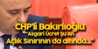 Bakırlıoğlu'ndan 'Asgari Ücret Çıkışı' : Şu An Zaten Açlık Sınırının da Altında