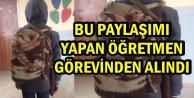 Battaniyeden Çanta Fotoğrafını Paylaşan Öğretmen Görevinden Alındı