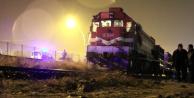 Çankırı'da Korkunç Kaza! Makinist Sesi Duyunca Treni Durdurdu, Görüntü Dehşete Düşürdü
