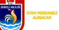 Denizli Bozkurt SYDV Personel Alımı Yapacak
