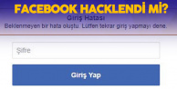 Facebook Çöktü! Şifreler Sıfırlanmıyor , Giriş Hatası Veriyor