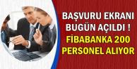 Fibabanka 200 Personel Alımı Başvurusu Bugün İŞKUR'dan Başladı