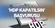 HDP'ye Şok! Mahkemeye Başvuruldu: HDP Kapatılsın