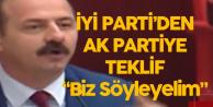 İYİ Parti'den AK Partiye Teklif: Bin Misliyle Söyleyeceğiz
