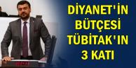 """İYİ Partili Akkal: """"Diyanetin bütçesi, TÜBİTAK'ı tam 3'e katlıyor"""""""