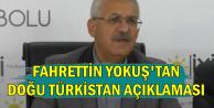 İYİ Partili Fahrettin Yokuş'tan Doğu Türkistan Açıklaması