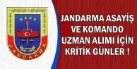 Jandarma Komando ve Asayiş Uzman Erbaş Alımında Kritik Tarih