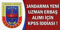 Jandarma Yeni Uzman Erbaş Alımı İçin KPSS İddiası