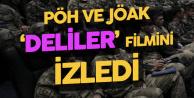 Kahraman Ordumuz ve Emniyet Teşkilatımızın Göz Bebekleri 'JÖAK ve PÖH' Timleri 'Deliler' Filmini İzledi