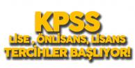 KPSS İle Lise, Önlisans ve Lisans Mezunu Memur Atama Tercihleri için Bekleyiş Sonlanıyor