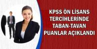 KPSS Ön Lisans Tercih Sonuçlarına Göre Taban ve Tavan Puanlar Belli Oldu