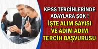 KPSS Tercihlerinde Adaylara Şok: İşte Alım Sayısı ve Adım Adım Tercih Başvurusu