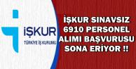 5 Bakanlık ve Belediyeler Sınavsız 6910 Personel Alımı (Adalet, MEB, Sağlık, Spor, Tarım)