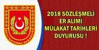 MSB 2018 Kara-Deniz-Hava Kuvvetleri Sözleşmeli Er Sonuç Duyurusu
