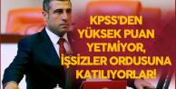 'O Bölümlerden Mezunların KPSS'den Yüksek Puan Almaları Yetmiyor, İşsizler Ordusuna Katılıyorlar'