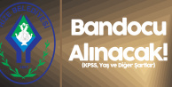 Rize Belediyesi'ne KPSS En az 60 Puanla Personel Alınacak