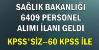 Sağlık Bakanlığı 6 Bin 409 Kadrolu Personel Alımı (Ambulans Şoförü, Sekreter, Güvenlik, Sekreter)