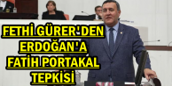 Fethi Gürer'den Erdoğan'a Tepki
