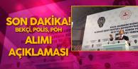 Süleyman Soylu'dan Bekçi Alımı, PÖH ve Polis Alımı Açıklaması