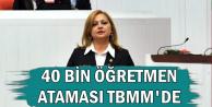 Şubat'ta 40 Bin Atama Yapılsın Talebi TBMM'de