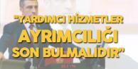 Taşdoğan: Kamuda Yardımcı Hizmetler Sınıfındaki Memurlar Mağdur