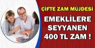 TBMM'ye Geldi: Emeklilere Seyyanen 400 TL Zam