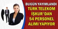 Türk Telekom İŞKUR'da Yeni İlan Yayımladı |İŞKUR'dan KPSS'siz