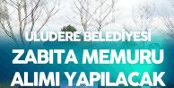 Uludere Belediyesi KPSS En Az 60 Puanla Zabıta Memuru Alacak