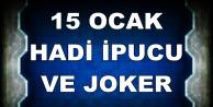 15 Ocak Hadi Fizy Joker Kodu ve İpucu (Kardan Adam Listesinin 7. Şarkısı)