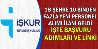 18 Şehre Alım Bugün Yayımlandı: Kamuya Sınavsız 10 Binden Fazla Personel Alımı