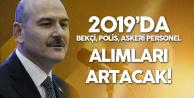 2019'da Polis Alımı, Bekçi, Sözleşmeli Er, Subay ve Astsubay Alımı Artacak