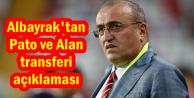 Abdurrahim Albayrak'tan Pato ve Alan Transferi Açıklaması