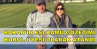 Bakan'ın Eşi Nigar Hülya Çavuşoğlu Kurul Üyeliğine Atandı