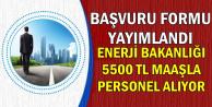 Başvuru Formu Yayınlandı: 5500 TL Maaşla Kamu Personel Alımı Başvurusu Başladı