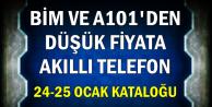 BİM ve A101'den Düşük Fiyata Akıllı Telefon (24-25 Ocak Kataloğu)