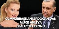 Cumhurbaşkanı Erdoğan'dan Müge Anlıya 'Palu Ailesi' Telefonu