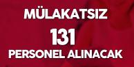 Düşük KPSS ile Mülakatsız 131 Sözleşmeli Personel Alınacak