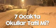 Samsun , Çorum, Kırıkkale ve Kastamonu'dan Kar Tatili Açıklaması (İstanbul, Ankara, Bursa ve Konya'da 7 Ocak'ta Okullar Tatil Mi?)