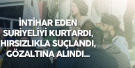 İstanbul'da İlginç Olay: İntihar Eden Suriyeli Kadını Kurtardı, Başına Gelmeyen Kalmadı!