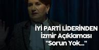 İYİ Parti Genel Başkanı Akşener'den İttifak Açıklaması: Herhangi Bir Sorun Yok