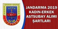 Jandarma 2019 Kadın-Erkek Astsubay Alımı Şartları ve Branşlar