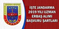 2019 Jandarma Asayiş Uzman Erbaş Alımı Başvuru Şartları 2019