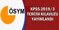 KPSS 2019/3 Tercih Kılavuzu Yayımlandı: Mülakatsız Memur Ataması Yapılacak