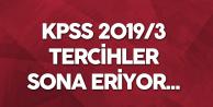 KPSS 2019 3 Tercihlerinde Sona Gelindi! Yarın Son Gün...