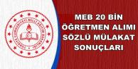 MEB Sözleşmeli Öğretmenlik Mülakat Sonuçları Açıklandı (Tercih ve Atama Tarihleri)
