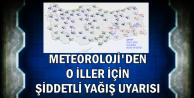Meteoroloji'den Şiddetli Yağış Uyarısı-İşte İl İl Hava Durumu
