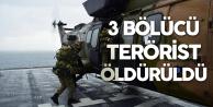 Milli Savunma Bakanlığı'ndan Açıklama Geldi: 3 Terörist Etkisiz Hale Getirildi