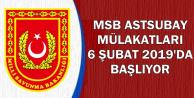 MSB Astsubay Mülakatları 6 Şubat'ta Başlıyor-İşte Mülakat Aşamaları